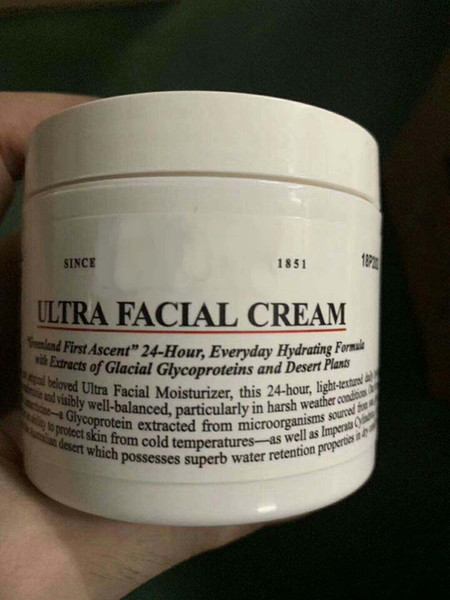New Arrival Brand KIEHL Ultra Facial Cream 24 Hours everyday hydrating moisturizing face cream DHL Free face cosmetics