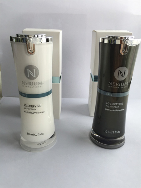 Plenty stock ! Nerium AD Night Cream and Day Cream 30ml Skin Care Day Night Creams with EXP date on bottle and Sealed Box