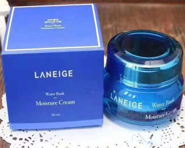 Dropshipping Excellent Quality Laneige Moisturizing Water Bank Gel Cream Mineral Water Day Night Cream 50ml in stock