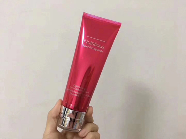 2019 highest version Super pomegranate 2 in 1 cleansing foam 125ml cleansing mask Skin Cleansing 4.2 fl.oz