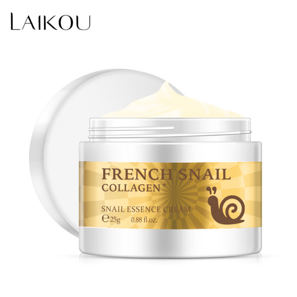 Snail Face Cream Hyaluronic Acid Moisturizer Nourishing Collagen Snail Serum Day Cream Skin Care Product Tool