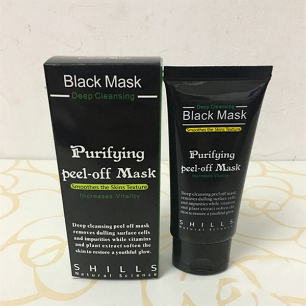 SHILLS Deep Cleansing Black Mask 50ML Blackhead Facial Mask Blackhead Remover Black Mask Facials Free DHL