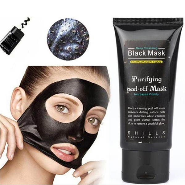SHILLS Deep Cleansing Black Mask Pore Cleaner 50ml Purifying Peel-off Mask Blackhead removers Facial Mask Free DHL Shipping