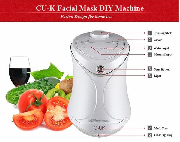 DIY facial fruit and vegetable mask machine