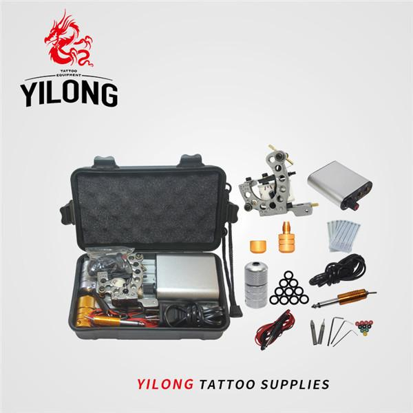Free Shipping Professional Tattoo Kit With 1PCS Permanent Makeup Machine For Tattoo Equipment Tattoo Machines Grip Kit