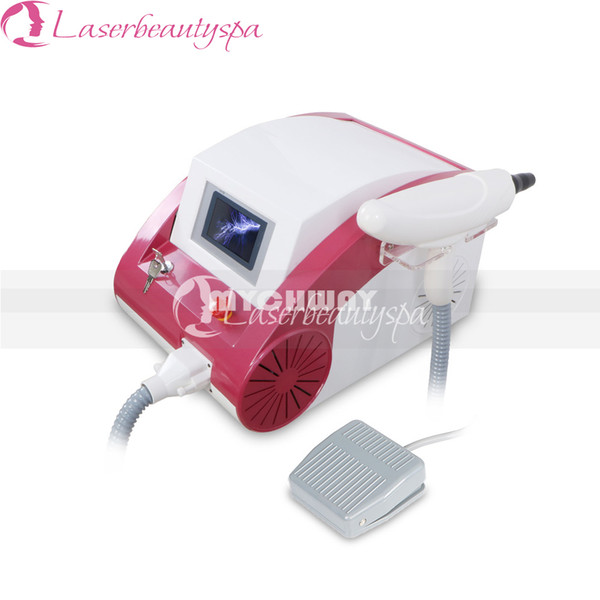 Professional 500W Q-Switch ND Yag Tattoo Removal Machine 1064nm/532nm/1320nm Eyebrow Lipline Removel Beauty Machine