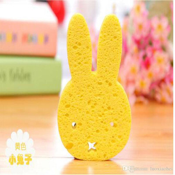 Wholesale Cartoon Baby Bath Brushes Infant Shower Rubbing Cute Animal Elephant Frog Rabbit Bear Newborn Soft Sponge Eco-Friendly bab