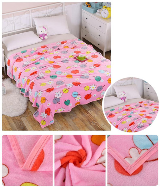 Creative Fashion trendy brand high quality fashion thick comfortable double blanket warm spring summer cute warm blanket