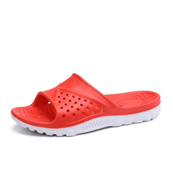 2018 new fashion trend through home bathroom slippers male AXM27