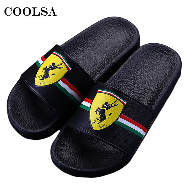 Men Slippers Summer Beach Sandals Sneakers Outdoor Flip Flops Printing Slides Flat Soft Home Slipper Man Casual Breathable Shoes