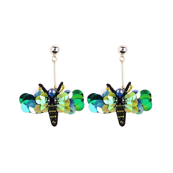 Luxury Bee Shape Drop Earring Women Girls Designer Dangle Earring for Gift Party Jewelry Accessories Wedding Gift
