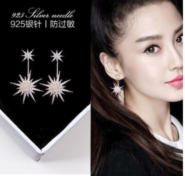 cecmic luxury designer star earrings jewelry necklace for girls and wedding earring