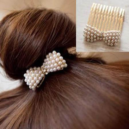 Hair bow fashion Hair Accessories high quality jewelry wedding Hairpin free shipping
