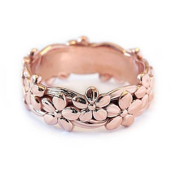 Stereoscopic Flower Ring Band Rings Wedding Ring New Designer Ring for Women Fashion Jewelry Gift Will and Sandy Drop Ship 080381