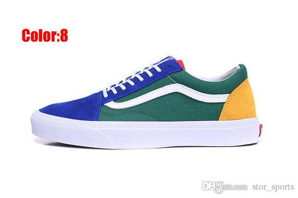 2020 Original vans sneakers old skool vans Classic men's & women's canvas shoes Skateboarding Shoes old skool Sports shoes