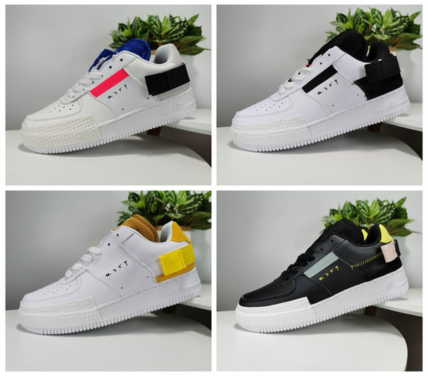 2020 New 1s Type N.354 Utility 1 Classic Black White Men Women Running Shoes Vandalized Low Cut Air Trainers Designer Sneakers