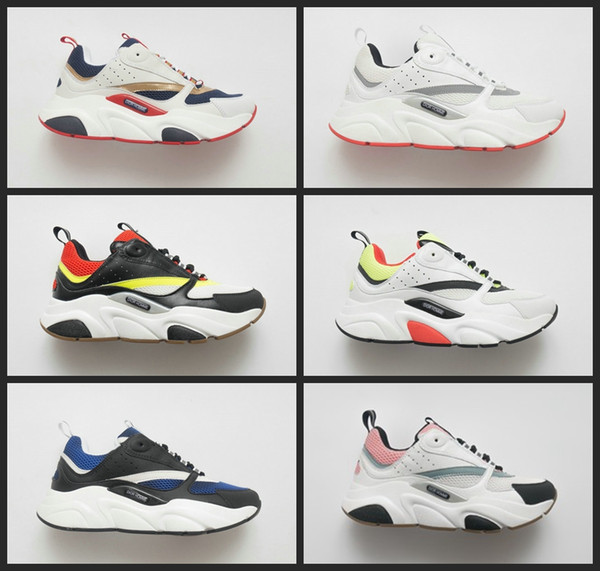 2020 New B22 Trainer Sneaker chaussures Running Shoes Women Mens Homme Platform designer sports Casual sneakers 36-45