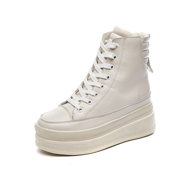 Women's shoes 2019 new massive shoe for women volcanic shoes casual fashion Thick soles increase in shoes wedge .SP-075