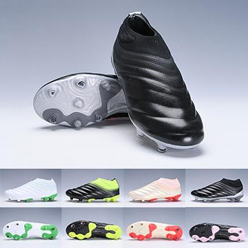 Copa 19+ FG Mundial FG Soccer Shoes Mens Black White Green Soccer Cleats World Cup Football Boots Botines Designer Men Sneakers Size 38-45