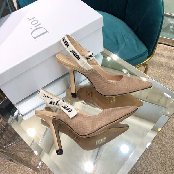 Designer Slippers Fashion Luxury Designer Women Shoes Luxury Shoes Fashion Luxury Designer Women Shoes 2019 New Ladies Sandals 14