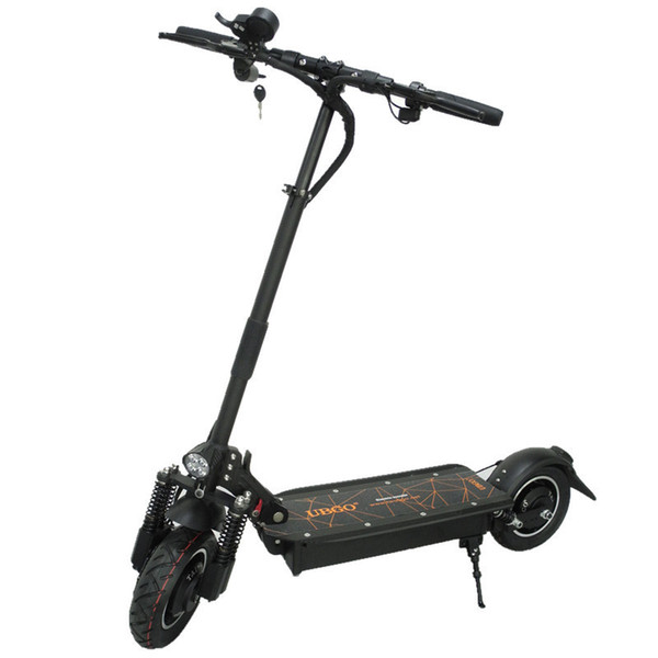 UBGO 60V/52V 2000W Double Drive Folding Electric Scooter For Adults