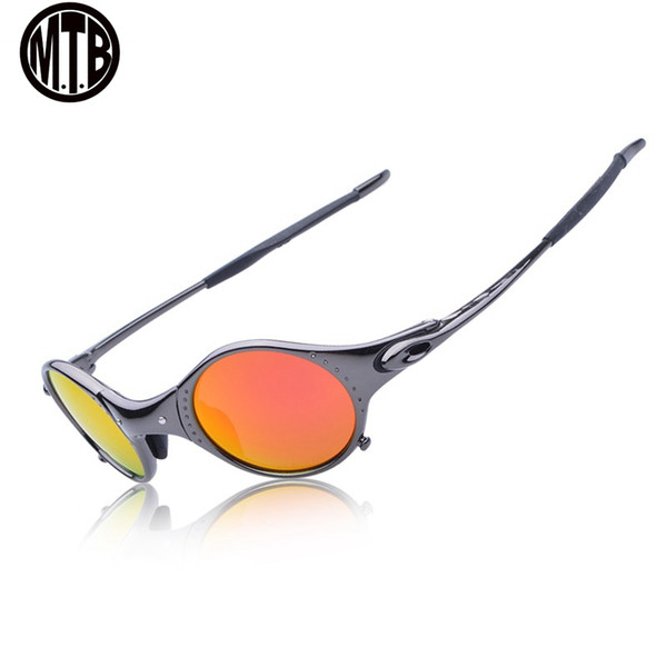 MTB Polarizing glasses Goggles Alloy Frame Cycling Glasses 100% cycling sunglasses oculos ciclismo occhiali fietsbril E5-4