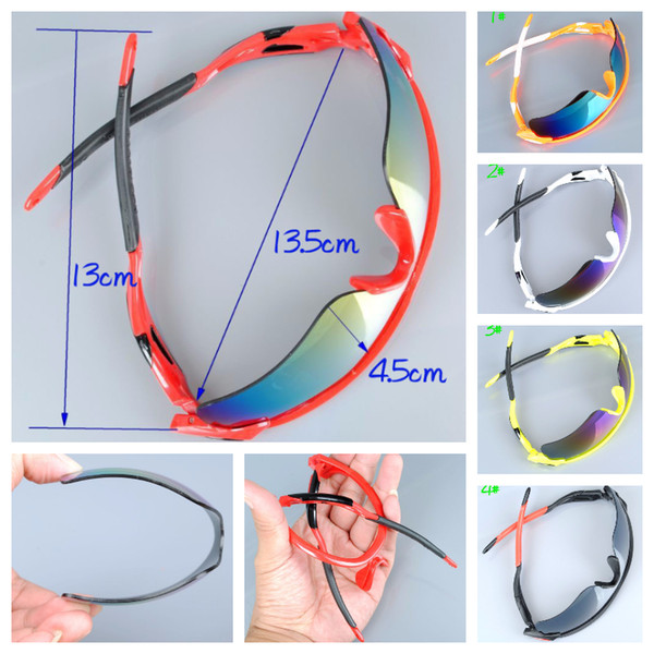 Sunglasses Summer newest style Only SUN glasses 9 colors men Bicycle Glass Nice Sports Dazzling colors glasses