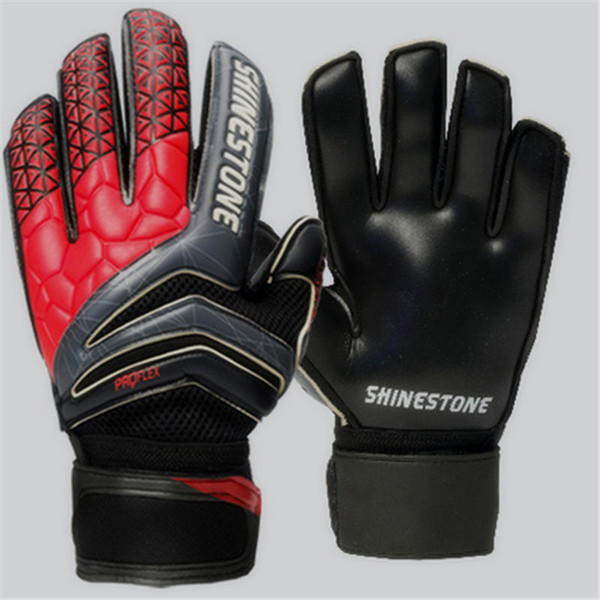 Professional Soccer Goalkeeper Glvoes Latex Finger Protection Fingerstall School Men Adult Football Goalie Gloves