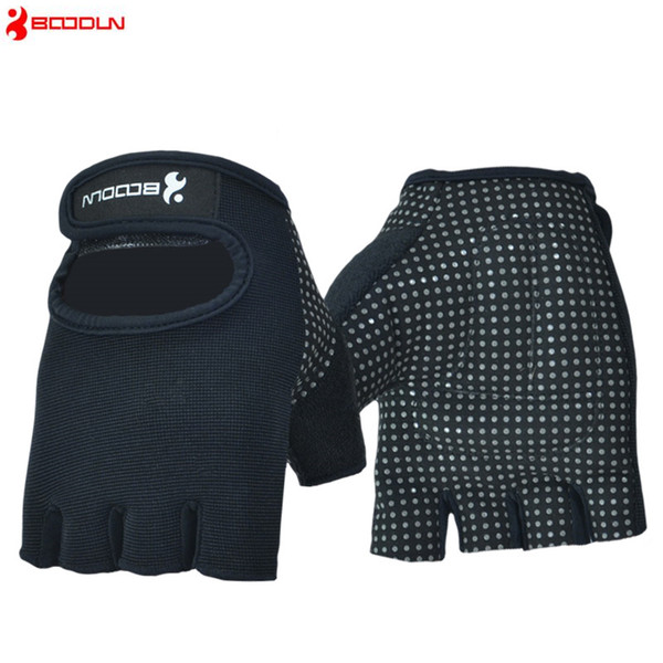 Brand Sports Gym Gloves Weight Lifting Crossfit Gloves Men Women Fitness Exercise Bowling Groves Wear Non-slip Sports Safety Weightlifting
