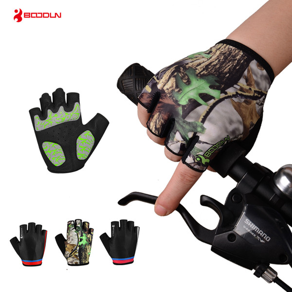 Brand Cycling Gloves Half Finger Men Women Bike Bicycle Gloves MTB Road Riding Mountain Running Sports Non-slip Glove Guantes de porter