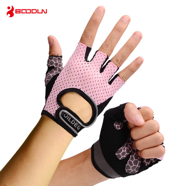 Boodun Weight Lifting Gym Gloves Training Fitness Gloves Men Sports Exercise Slip-Resistant Breathable Women Yoga Gloves Guantes de portero