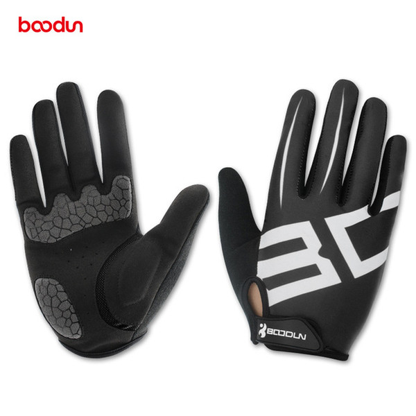 Boodun Men Women Cycling Gloves Full Finger Motocycle Boxing Groves MTB Road Bike Bicycle Riding Mittens Gants Velo Luvas de goleiro