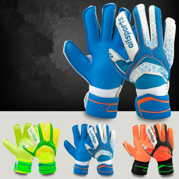 New Soccer Goalkeeper Gloves Finger Protection Professional Men Football Glove Adults Kids Thicker Goalie Soccer Gloves Luvas de futebol Sem