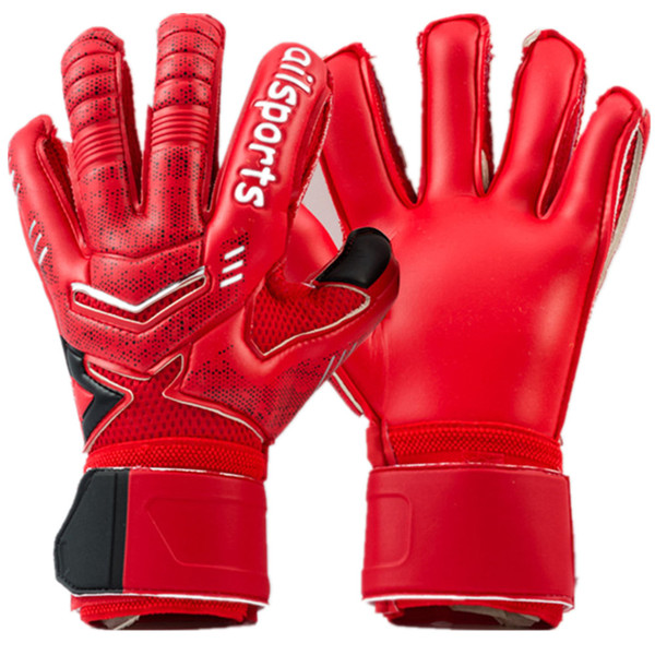 Professional Goalkeeper Gloves Adult Children Finger Protection Soccer Ball Glove Thickened Latex Goalie Football Gloves Luvas de goleiro