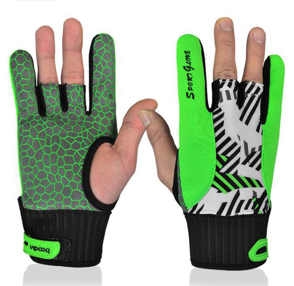 BOODUN men and women bowling high quality thumb silicone non-slip gloves spot wholesale two color options