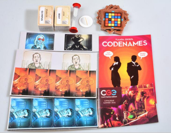 Newest Codenames Party Game Funny Games For Adults Social Word Game a Simple Premise And Challenging Play Card game