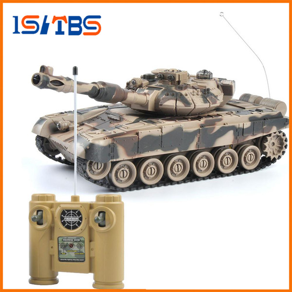 RC Tank 1/20 9CH 27Mhz Infrared RC Battle Tiger T90 Tank Cannon & Emmagee Remote Control Tank remote toys for boys