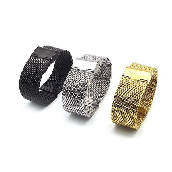 EACHE 22MM Magnetic Milanese Loop For Men Mesh Watch Band Bracelet Strap Stainless Steel Band for 18mm 20mm 22mm Classic bands