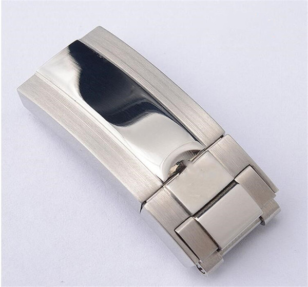 16mm*9mm NEW High Quality Stainless steel Watch Bands strap Buckle Deployment Clasp bands