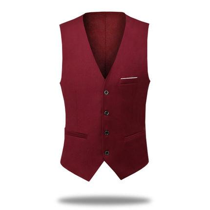 Cheap And Fine Cool Single breasted Vests British style for men Suitable for men's wedding / dance / dinner best men's vest A14